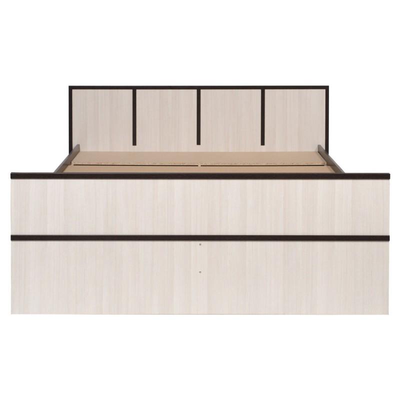 Двуспальная кровать  Кровать Сакура Венге / Лоредо, 160х200 см (фото 4)