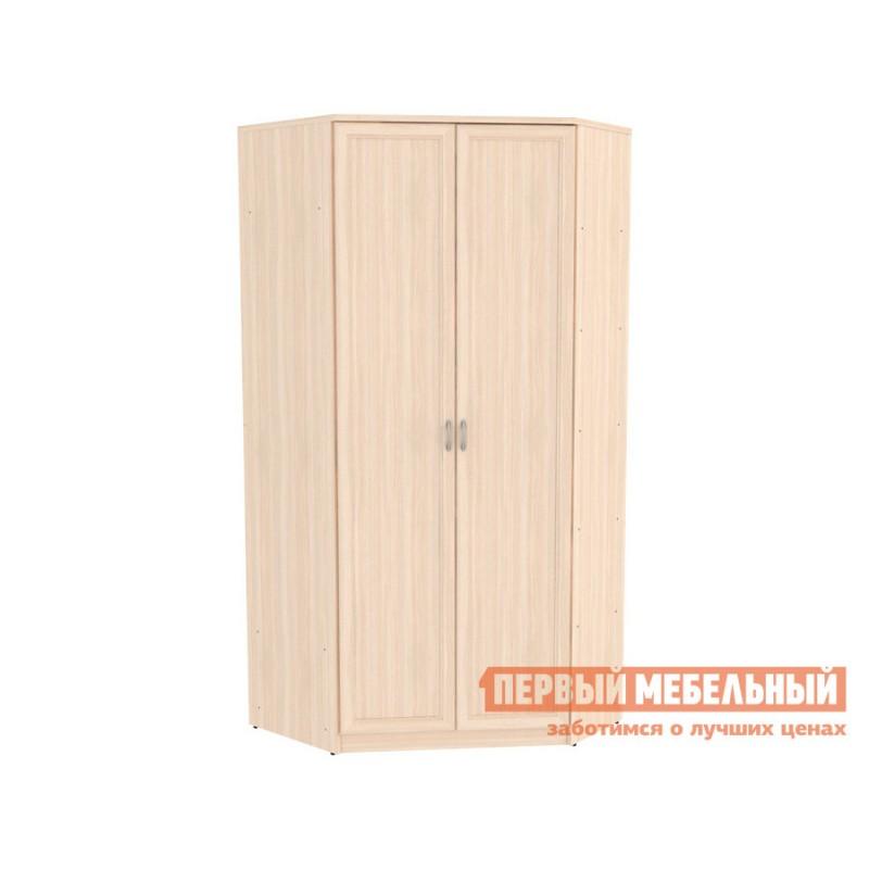 Распашной шкаф  Шкаф угловой Мерлен 403 Молочный дуб, Без зеркала