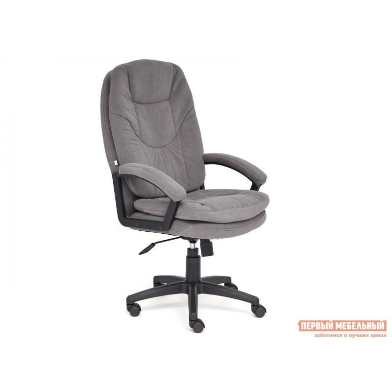 Кресло руководителя  COMFORT LT Серый, флок
