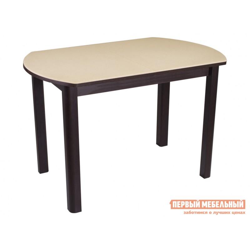 Кухонный стол  Обеденный стол Румба ПО КМ Бежевый 06 / Венге ВН, Средний