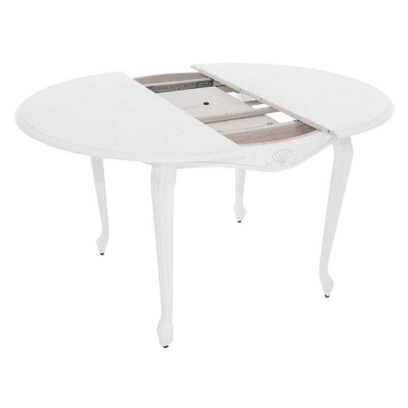 Кухонный стол  Кабриоль М Тон 9, Эмаль белая (фото 2)