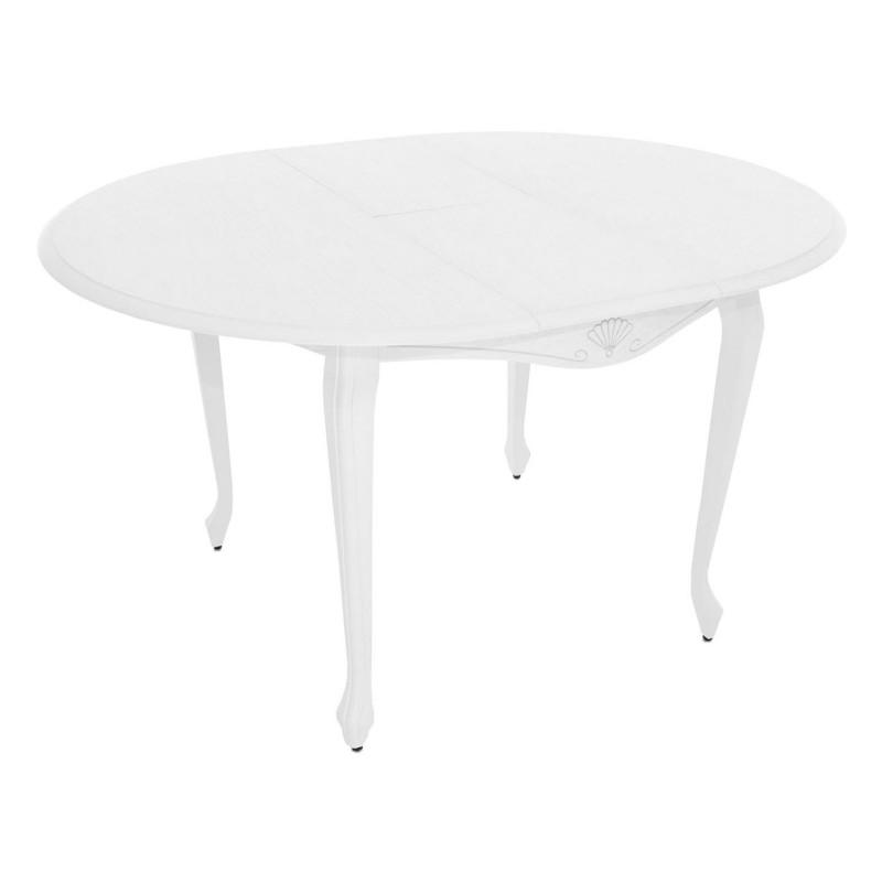 Кухонный стол  Кабриоль М Тон 9, Эмаль белая (фото 3)