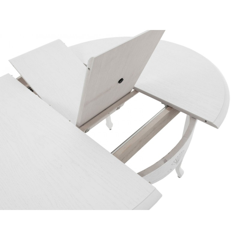 Кухонный стол  Кабриоль М Тон 9, Эмаль белая (фото 4)