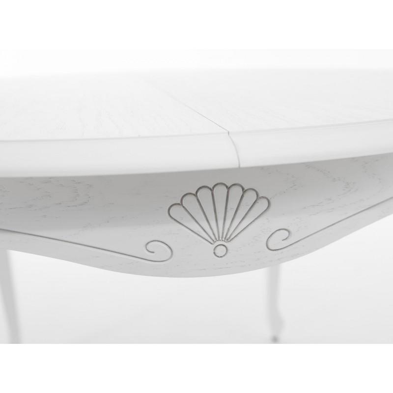 Кухонный стол  Кабриоль М Тон 9, Эмаль белая (фото 5)