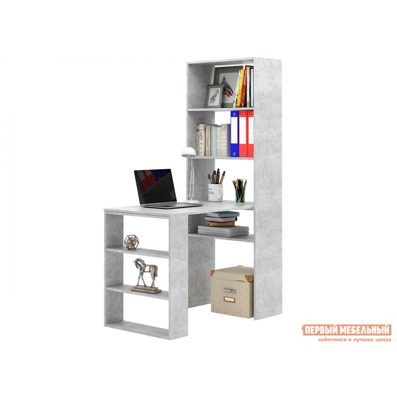 Компьютерный стол  Рикс Бетон
