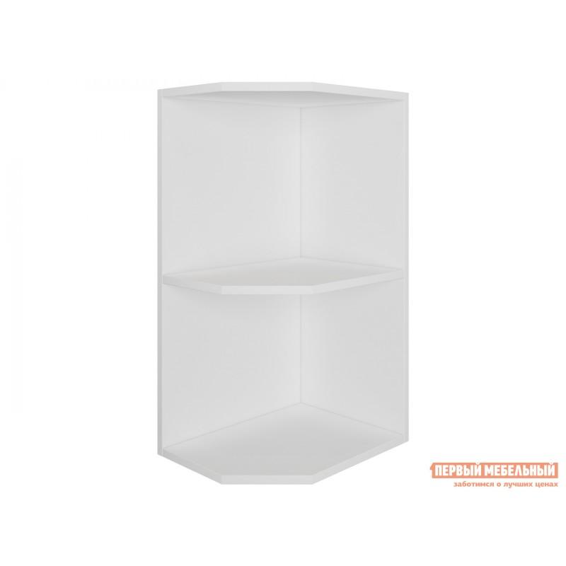 Кухонный модуль  Шкаф открытый торцевой скошенный 40 см Палермо Белый