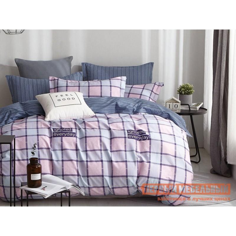 Комплект постельного белья  КПБ сатин С47 С47, сатин, Евро