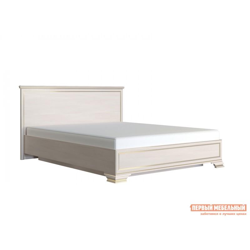 Двуспальная кровать  Кровать с подъемным механизмом Сиена Бодега белый, патина золото, 160х200 см (фото 2)
