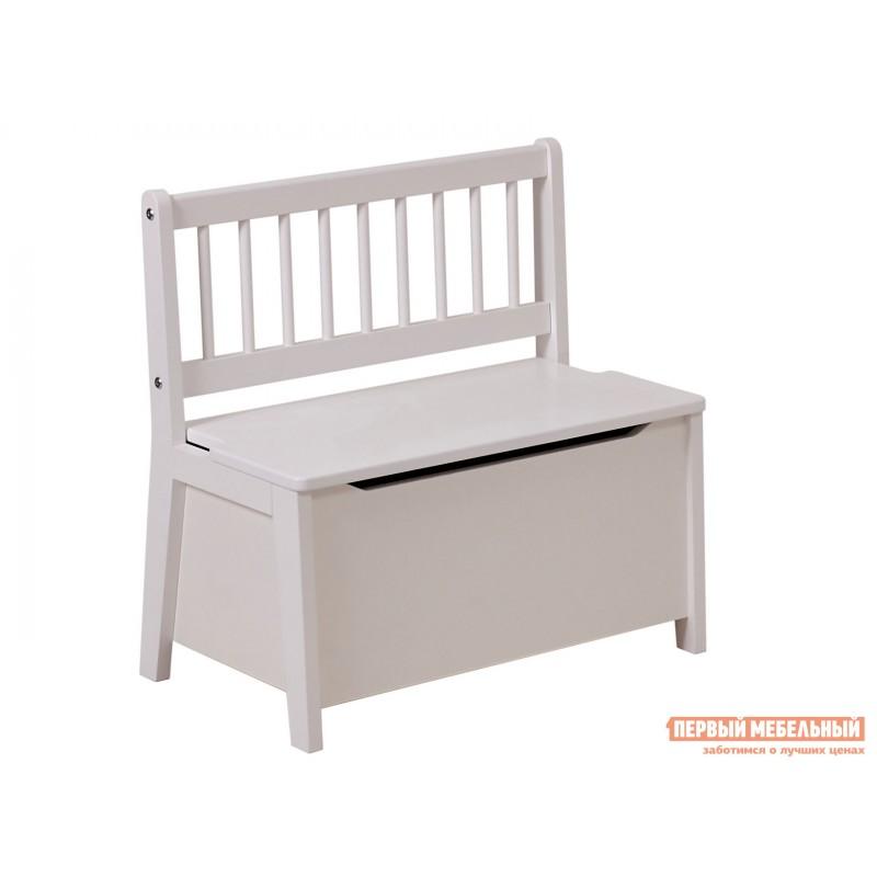 Столик и стульчик  Комплект детской мебели Polini kids Dream 195 M, со скамьей и стульями Белый (фото 4)