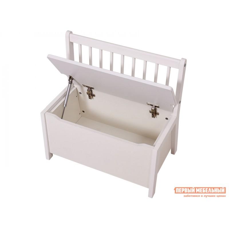 Столик и стульчик  Комплект детской мебели Polini kids Dream 195 M, со скамьей и стульями Белый (фото 7)
