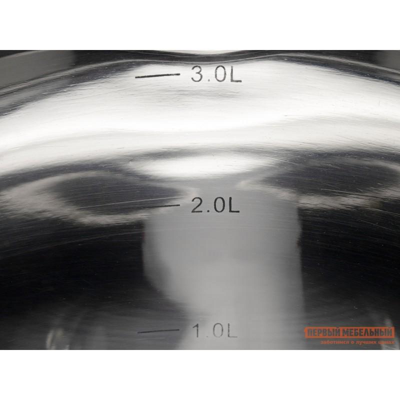 Кастрюля  Кастрюля с крышкой AZIMUT 20х11.5см 3.3л Серебристый (фото 5)