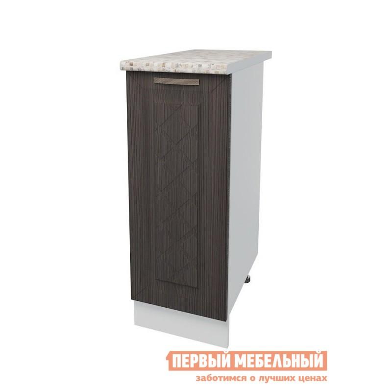 Кухонный модуль  Стол 1 дверь 30 см Агава Лиственница темная