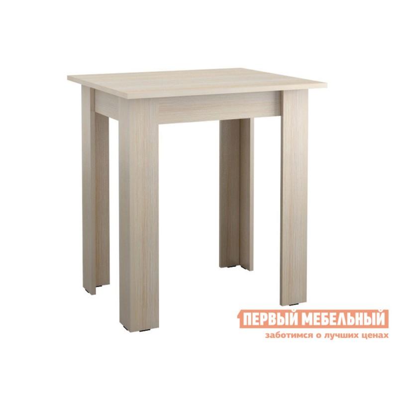 Кухонный стол  Стол обеденный Джастин-мини Дуб молочный
