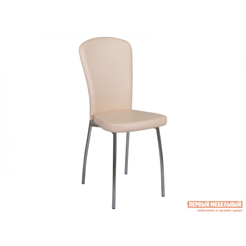 Стул  Обеденный стул Палермо В-1/В-1 Бежевый, экокожа