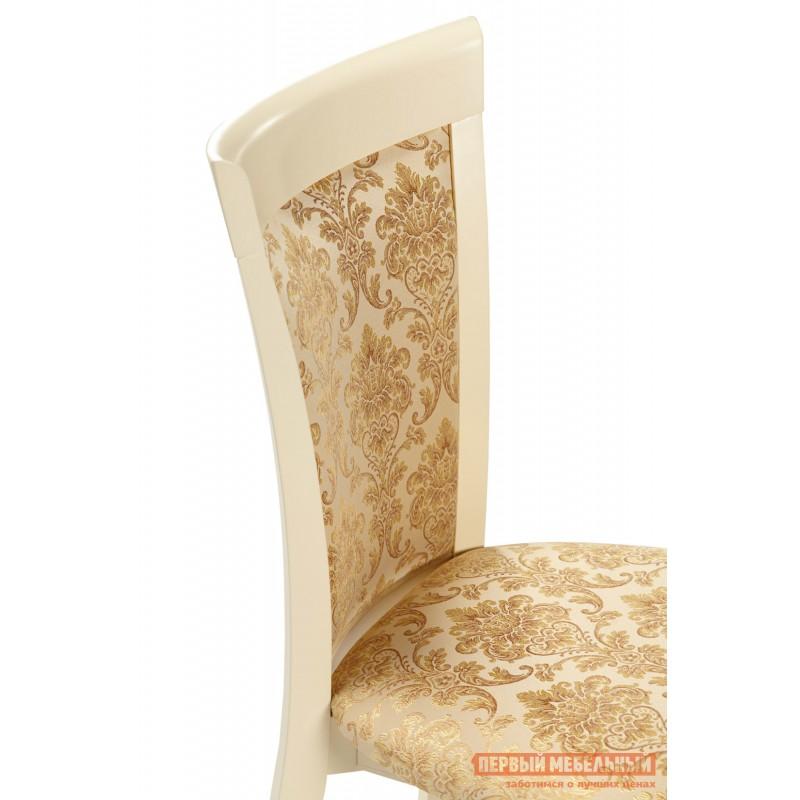 Обеденная группа для столовой и гостиной  Стол Фабрицио + 4 стула Тулон мягких Слоновая кость / Андрис Вензель 160 (фото 3)