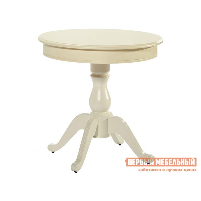 Обеденная группа для столовой и гостиной  Стол Фабрицио + 4 стула Тулон мягких Слоновая кость / Андрис Вензель 160 (фото 4)
