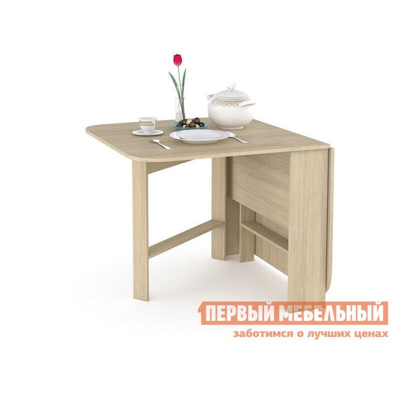 Кухонный стол  Глория 609 Стол-книжка Дуб Сонома (фото 2)