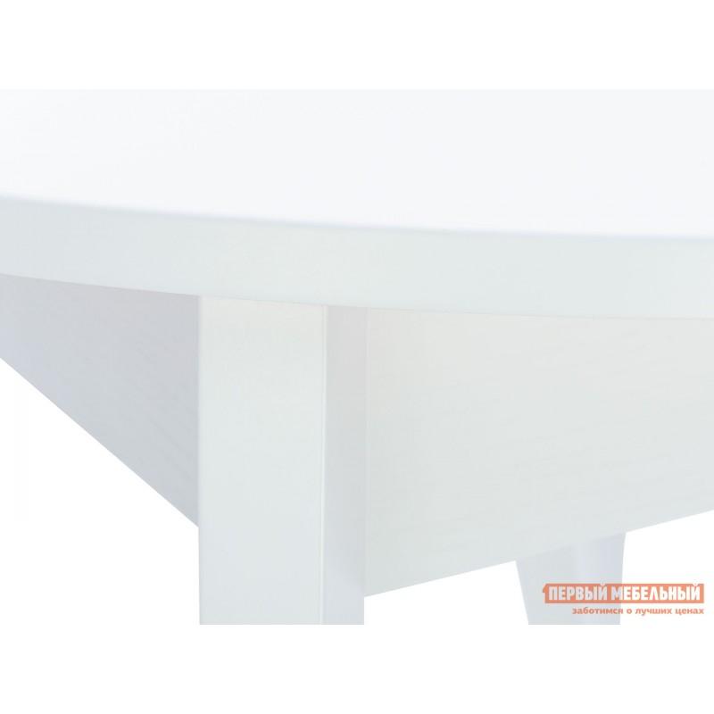 Кухонный стол  Стол раздвижной Leset Говард 1P Белый (фото 4)