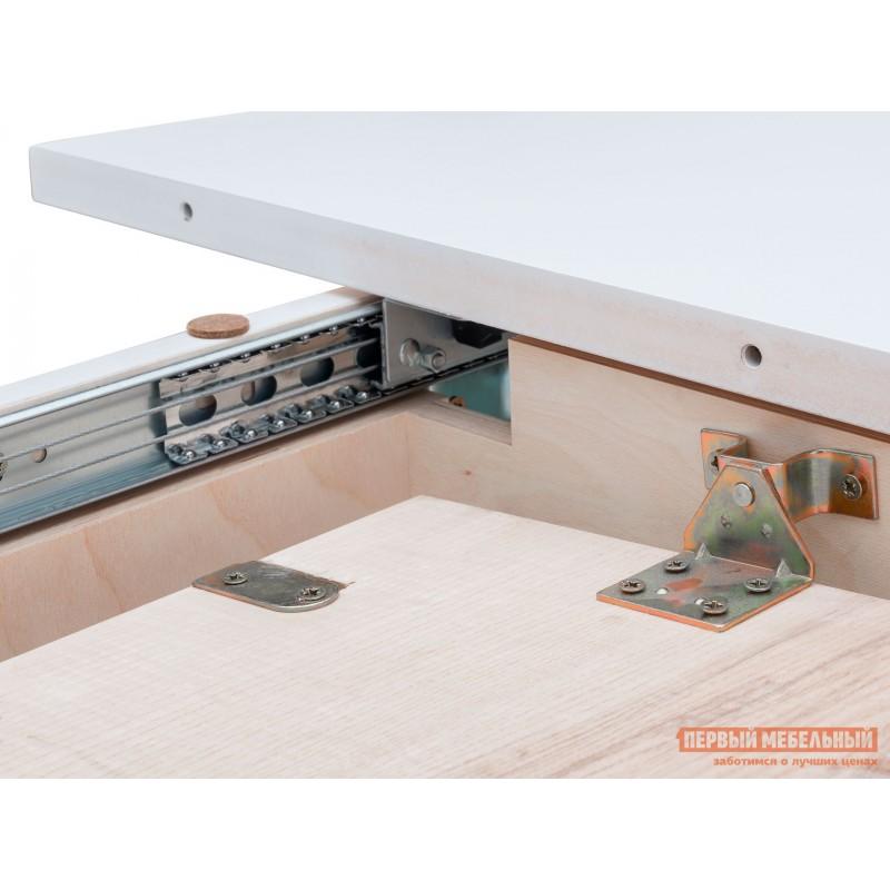 Кухонный стол  Стол раздвижной Leset Говард 1P Белый (фото 5)
