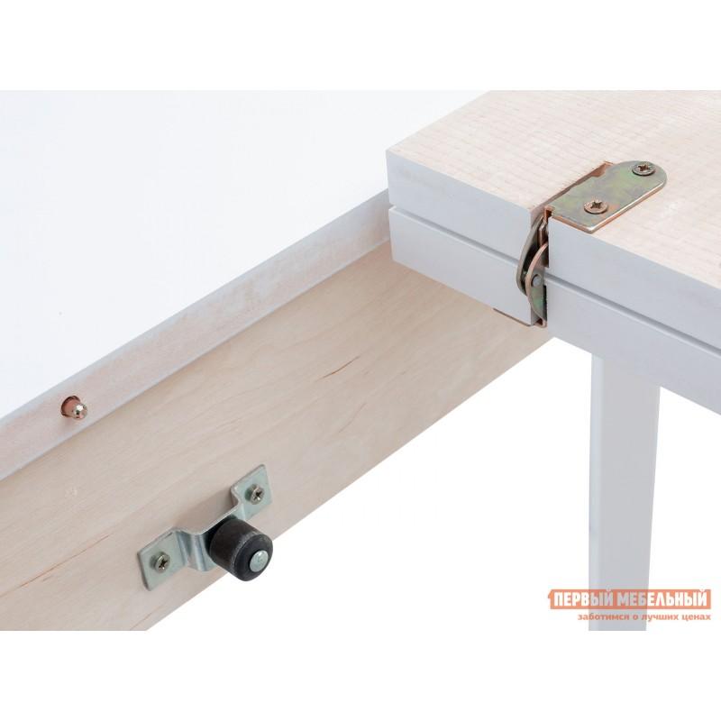 Кухонный стол  Стол раздвижной Leset Говард 1P Белый (фото 6)
