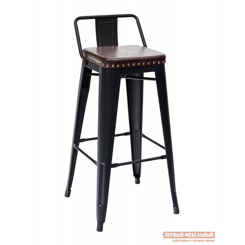 Барный стул  TOLIX SOFT барный LF630A Черный матовый