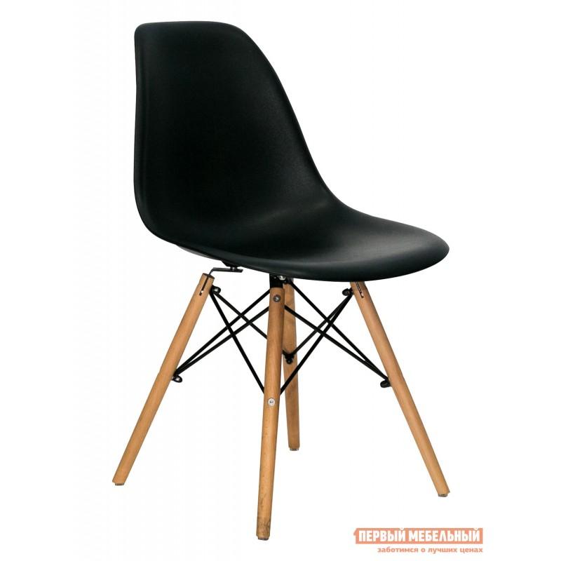 Обеденная группа для столовой и гостиной  EAMES DSW Z-231 + Eames Wood Белый / Черный (фото 2)