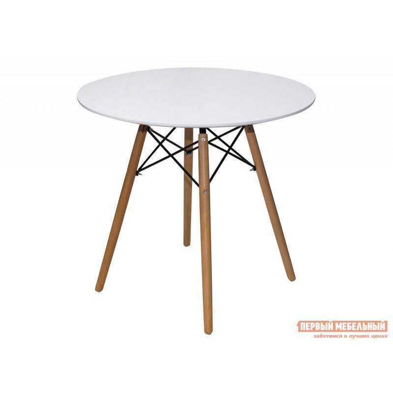 Обеденная группа для столовой и гостиной  EAMES DSW Z-231 + Eames Wood Белый / Черный (фото 3)