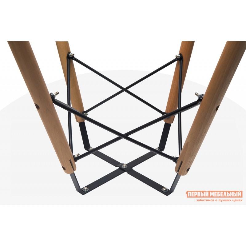 Обеденная группа для столовой и гостиной  EAMES DSW Z-231 + Eames Wood Белый / Черный (фото 4)