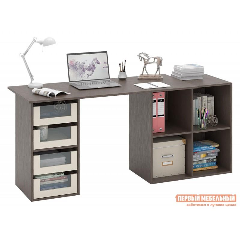 Письменный стол  Прайм-79 Венге / Дуб молочный