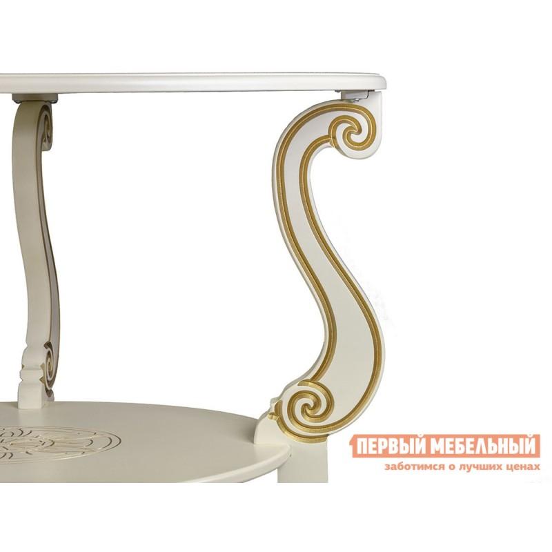 Журнальный столик  Овация (М)  Слоновая кость (фото 6)