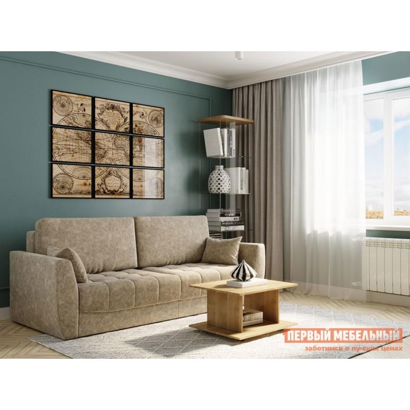 Прямой диван  Диван Тиволи Люкс Крем, велюр (фото 10)