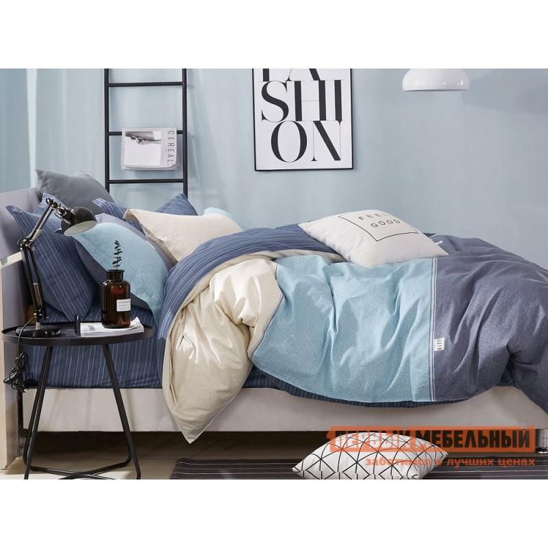 Комплект постельного белья  КПБ сатин С41 С41, сатин, Двуспальный