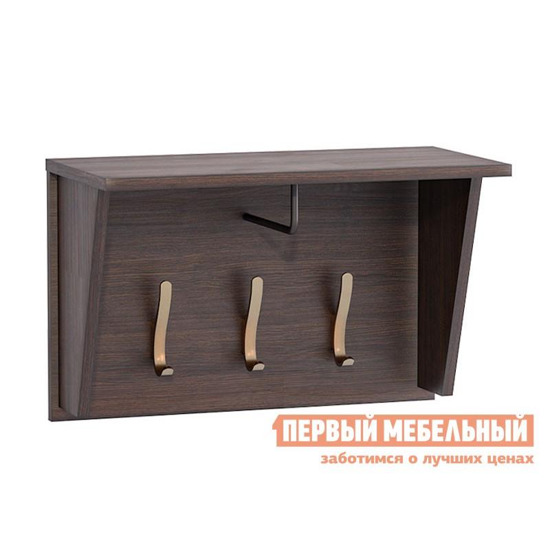 Настенная вешалка  Полка Мадэра 09.121 Венге