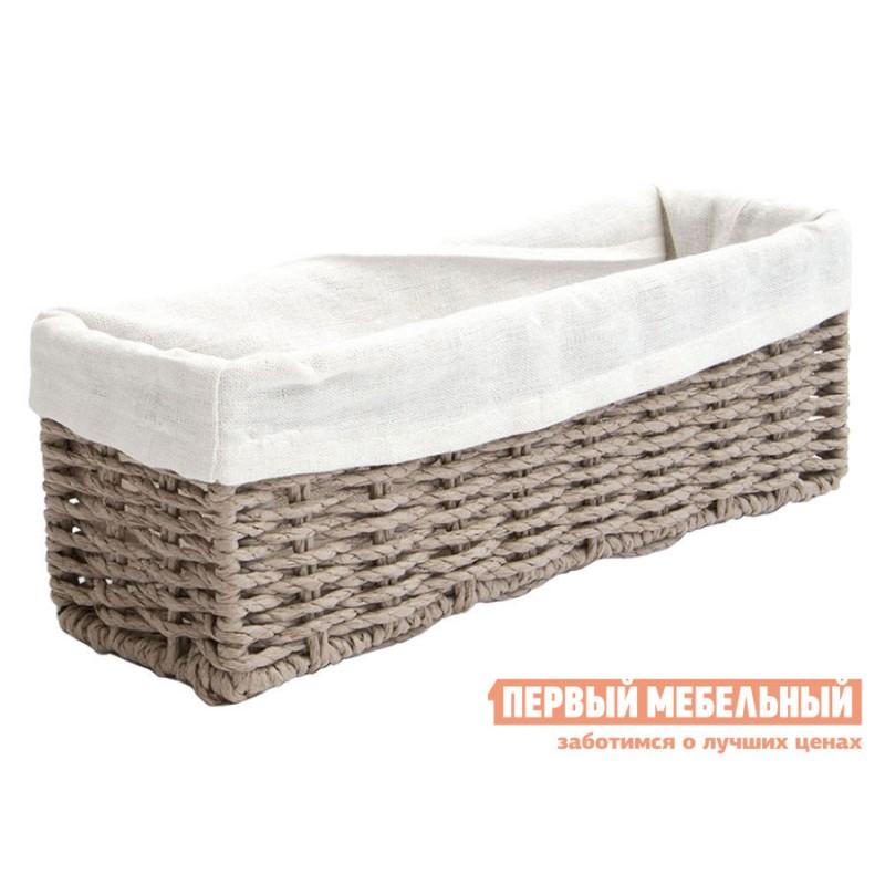 Корзина для хранения  Пепер Ивовая лоза / Пепер, ткань, L