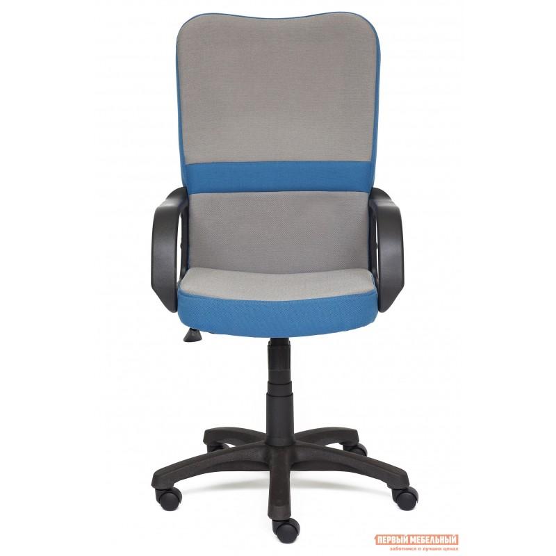 Кресло руководителя  CH757 Серый С27 / Синий С24 (фото 2)
