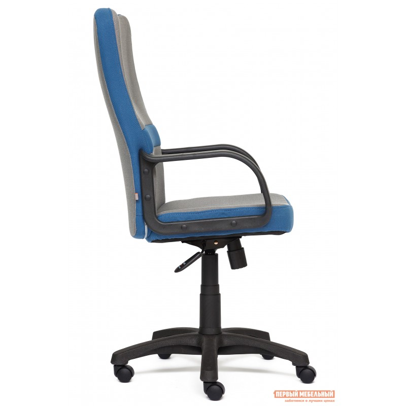 Кресло руководителя  CH757 Серый С27 / Синий С24 (фото 3)