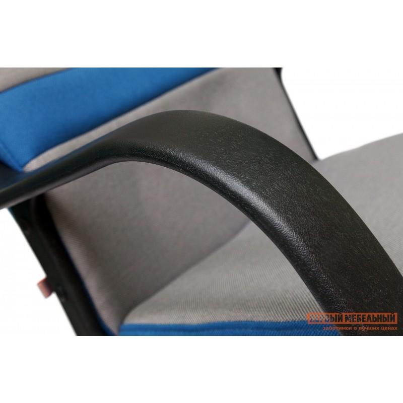 Кресло руководителя  CH757 Серый С27 / Синий С24 (фото 5)