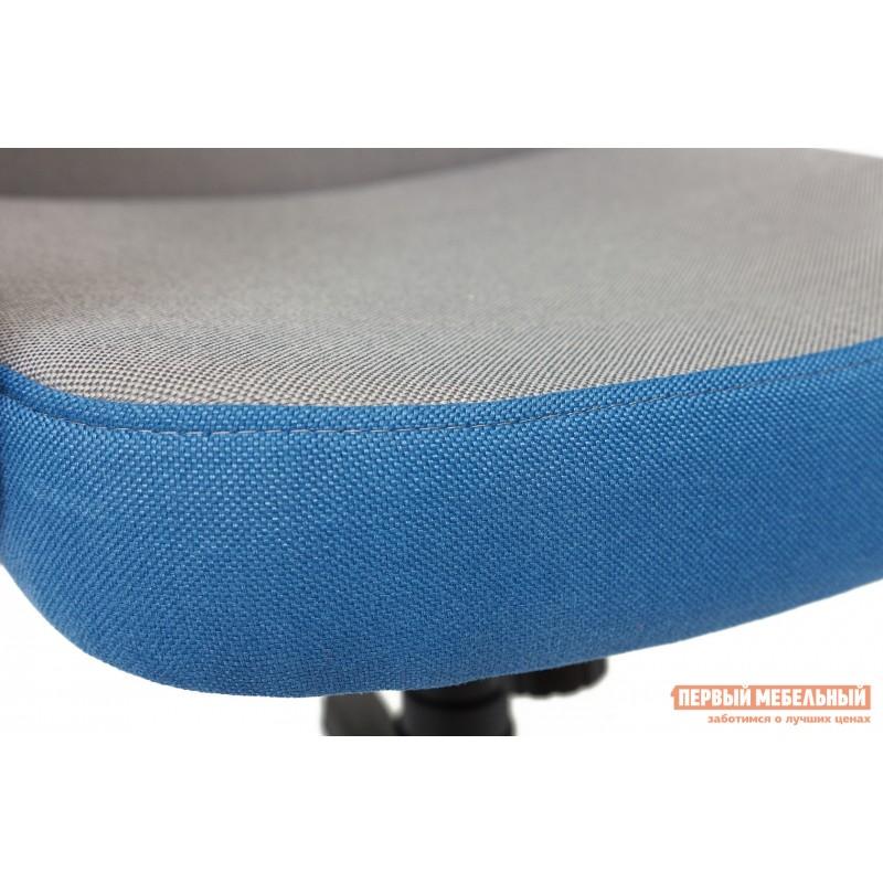 Кресло руководителя  CH757 Серый С27 / Синий С24 (фото 7)