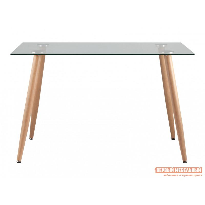 Кухонный стол  Стол Освальд T022 + T022 legs Прозрачное стекло / Металл (фото 2)
