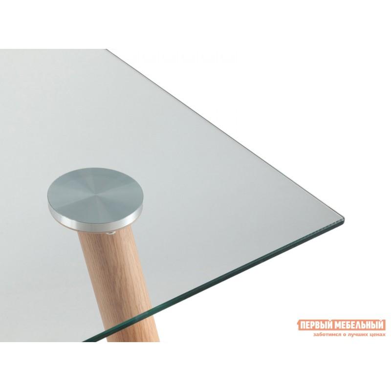 Кухонный стол  Стол Освальд T022 + T022 legs Прозрачное стекло / Металл (фото 5)