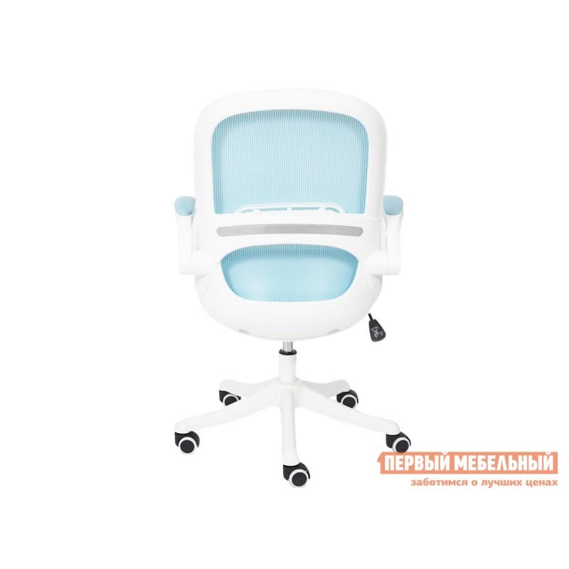 Офисное кресло  Happy white Голубой, ткань (фото 6)