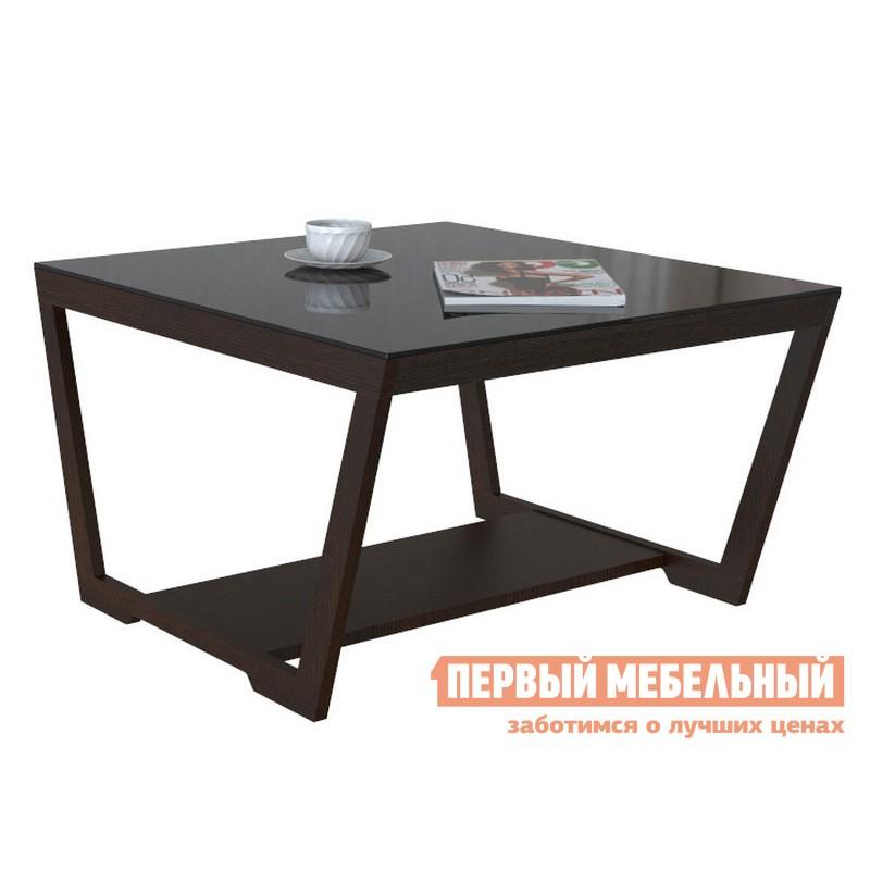 Журнальный столик  BeautyStyle 1 Венге / Стекло черное