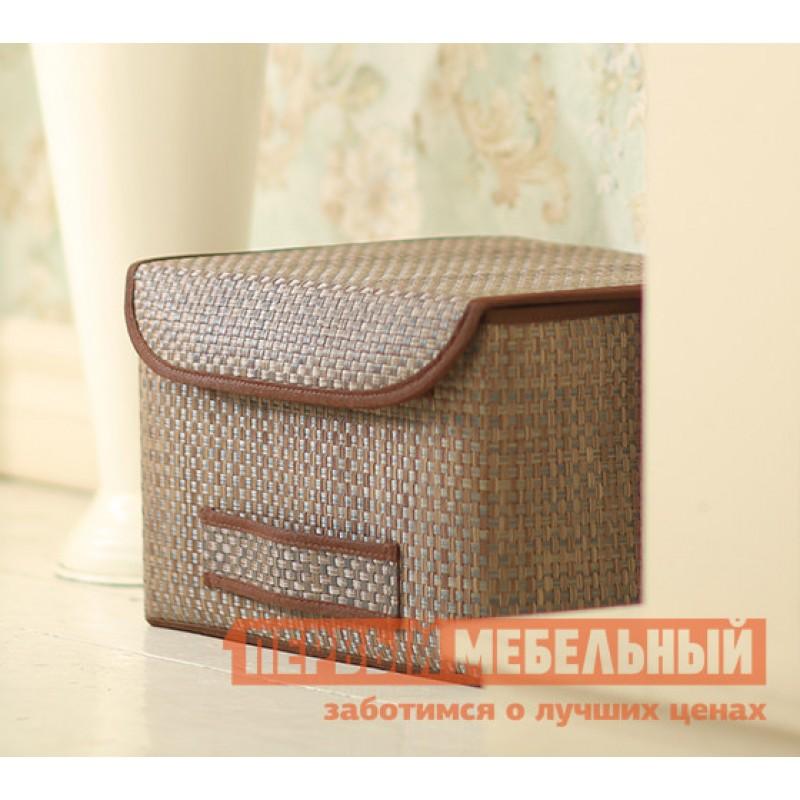 Кофр  Коробка для хранения с крышкой 35х30х22см Бежевый (фото 2)