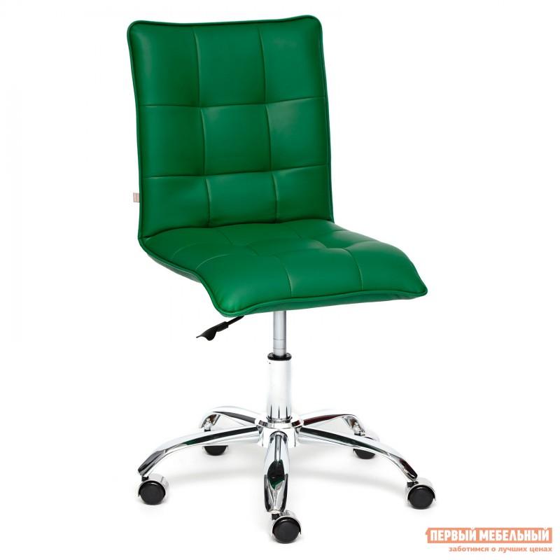 Офисное кресло  ZERO Кож/зам, зеленый, 36-001