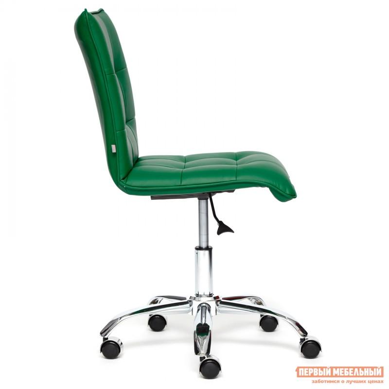 Офисное кресло  ZERO Кож/зам, зеленый, 36-001 (фото 3)