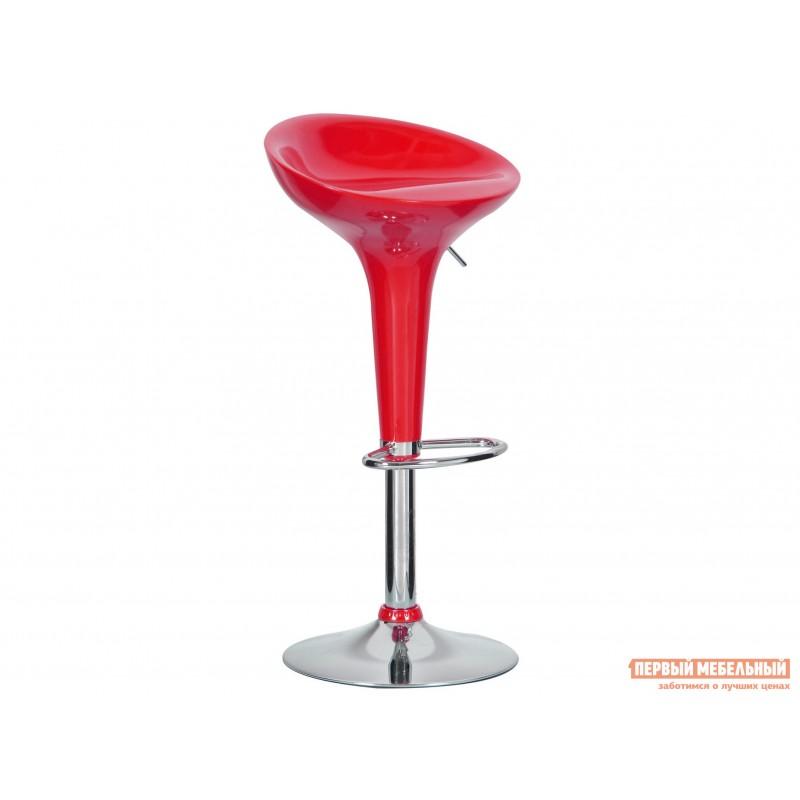 Барный стул  Бомба Красный