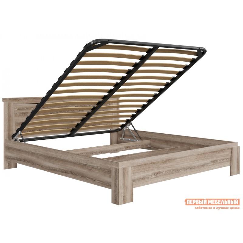Двуспальная кровать  Кровать Гарда NEW Ясень Таормино, 180х200 см, С основанием, С подъемным механизмом (фото 3)