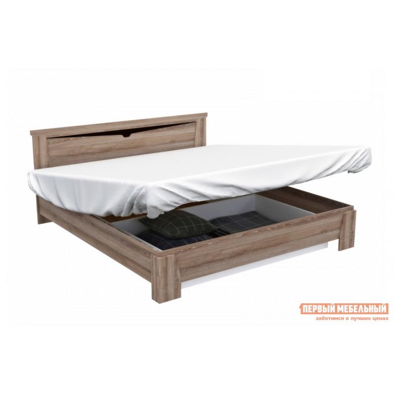 Двуспальная кровать  Кровать Гарда NEW Ясень Таормино, 180х200 см, С основанием, С подъемным механизмом (фото 8)
