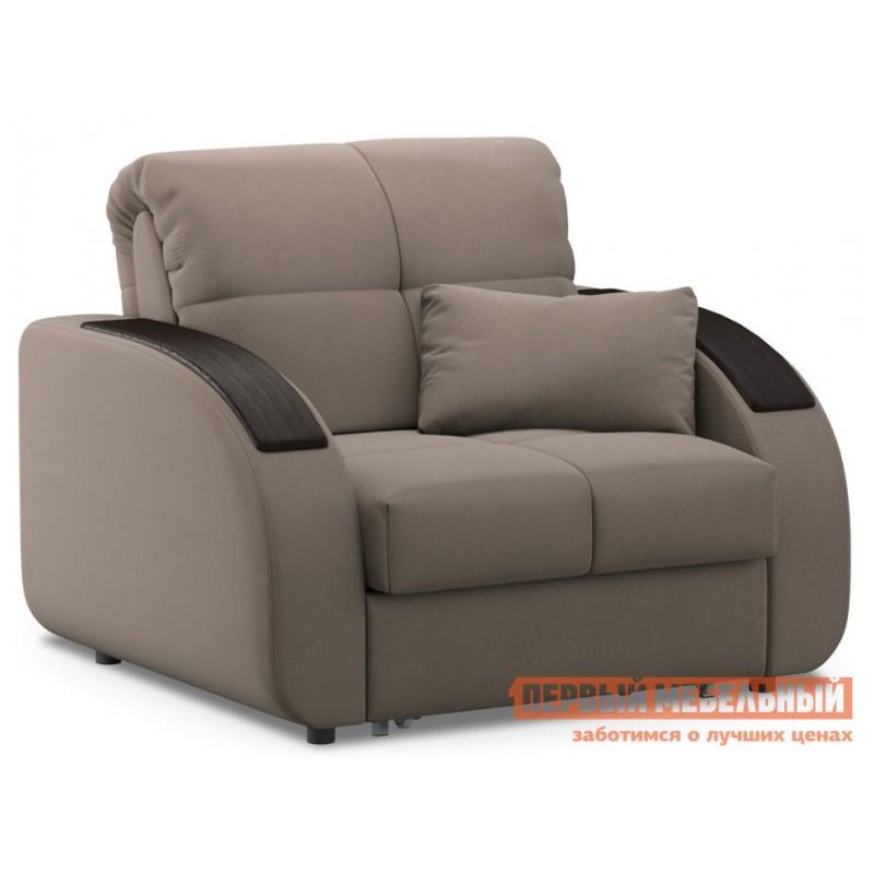 Кресло  Кресло-кровать Уильям / Кресло-кровать Уильям Люкс Латте, велюр , Независимый пружинный блок