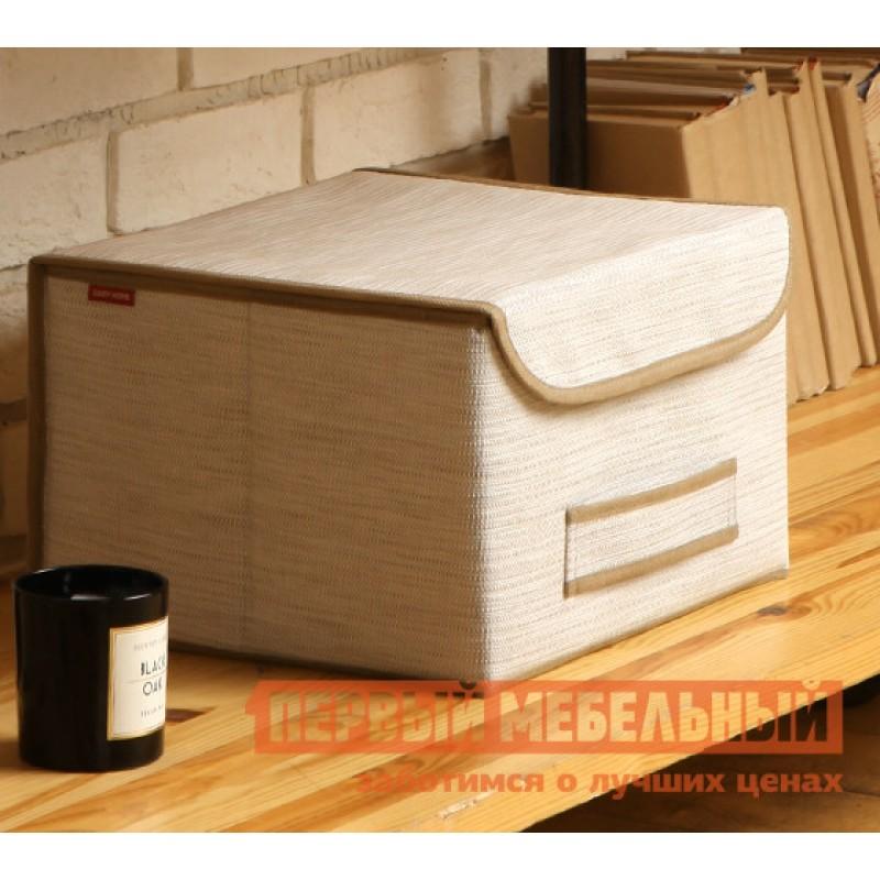 Кофр  Коробка для хранения с крышкой 35х30х22см Белый (фото 2)